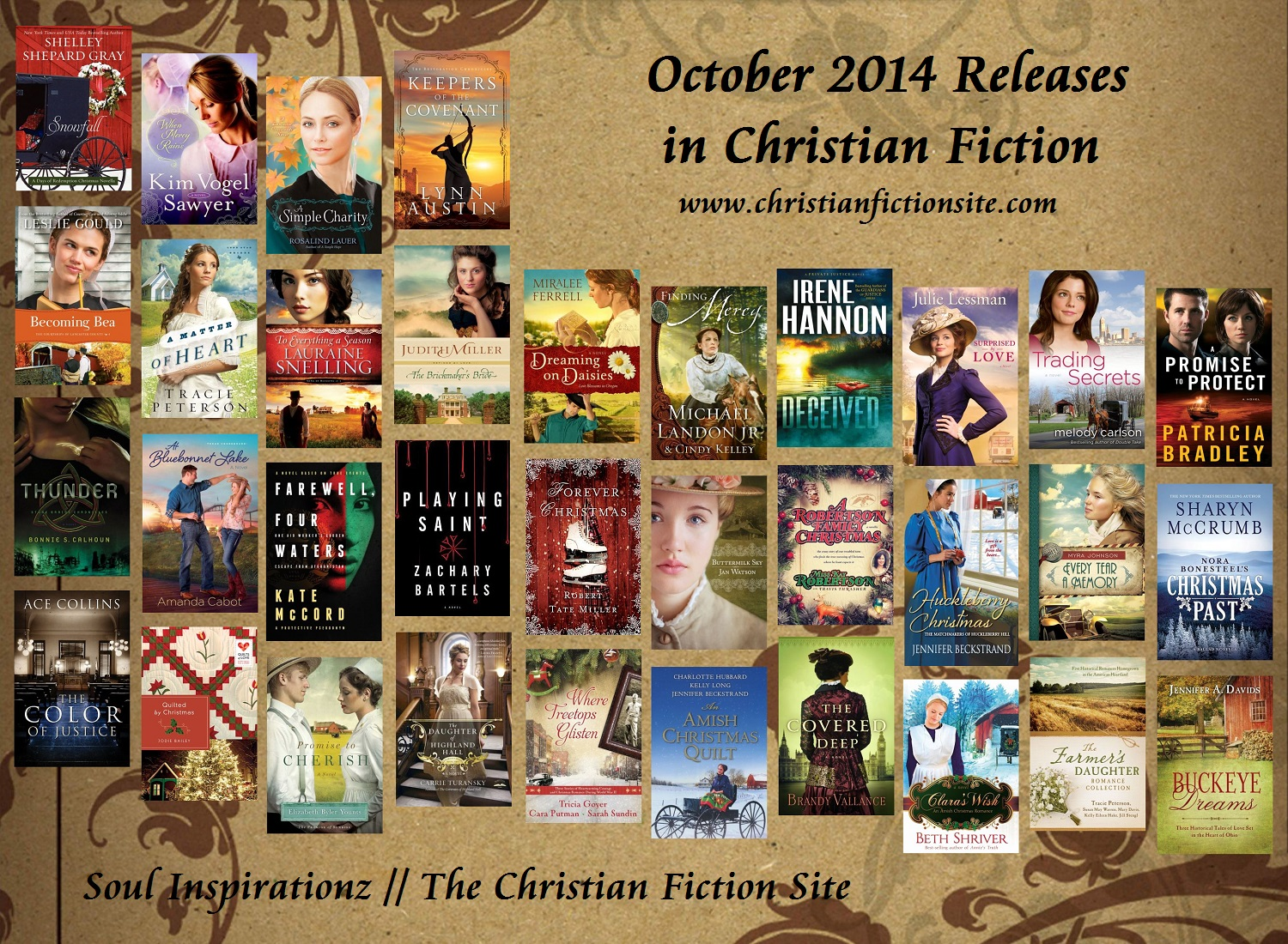 October 2014 Christian Fiction