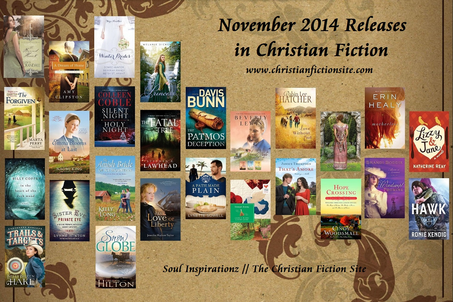 November 2014 Christian Fiction