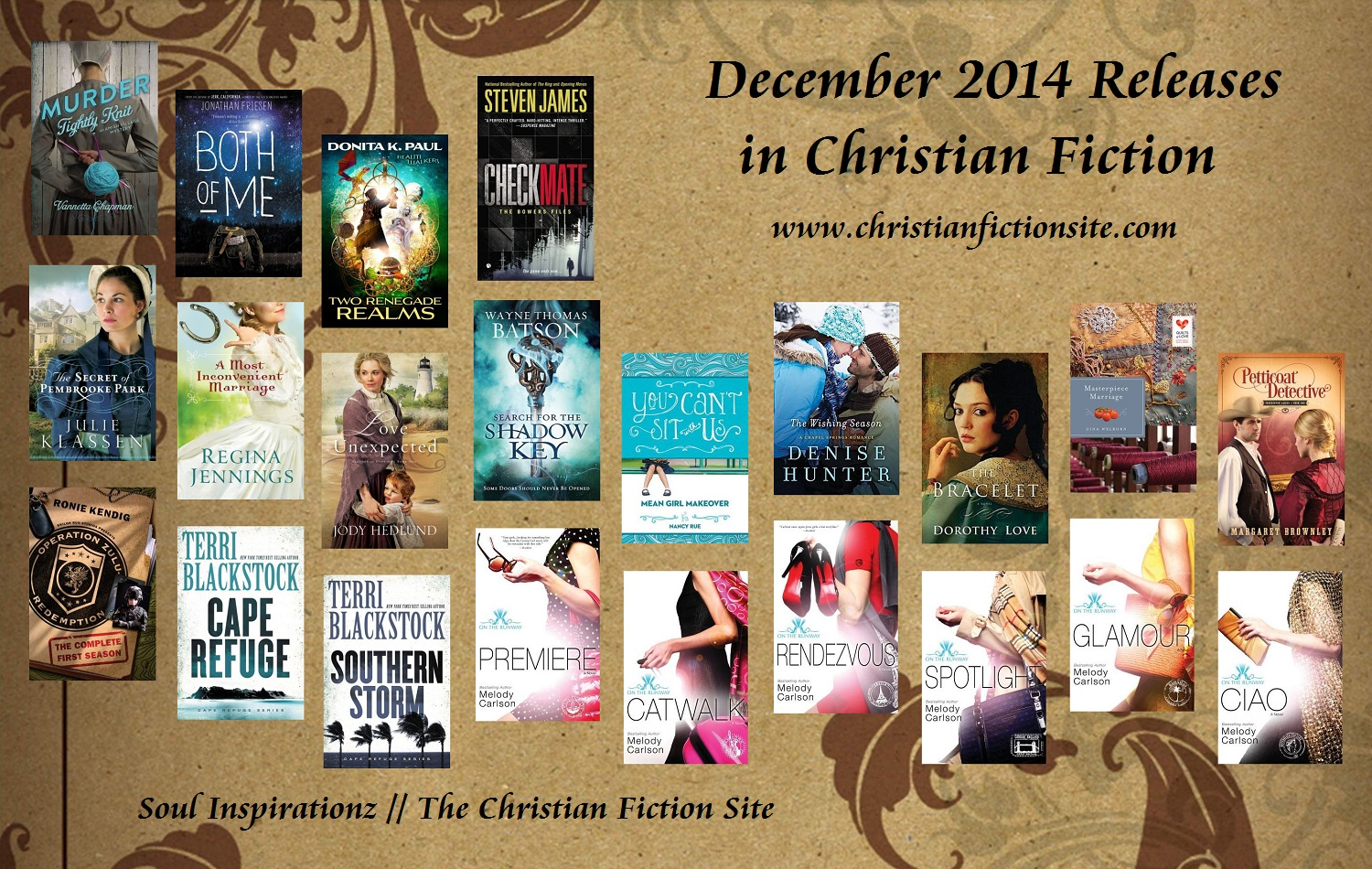 December 2014 Christian Fiction
