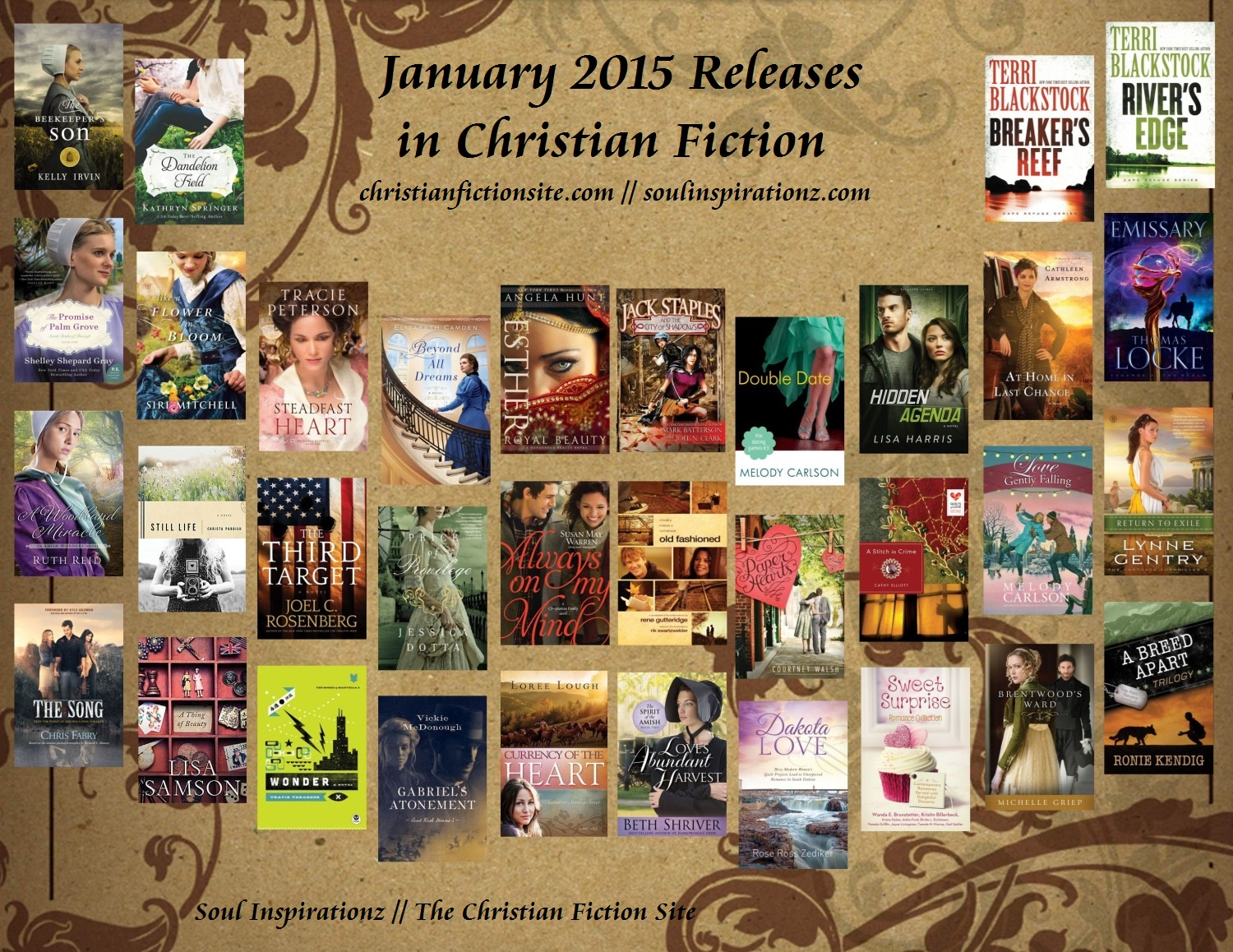 January 2015 Christian Fiction