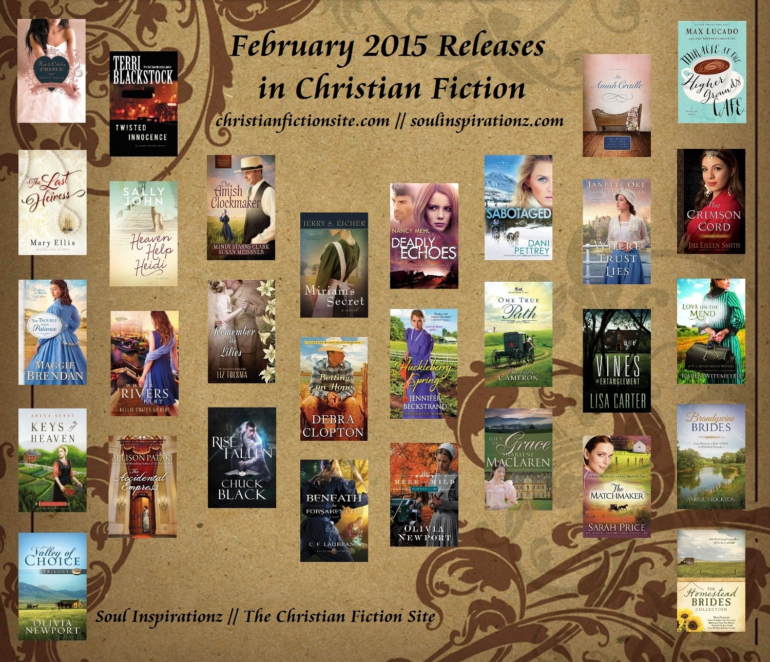 February 2015 Christian Fiction