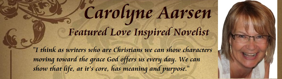 Featured Author Carolyne Aarsen
