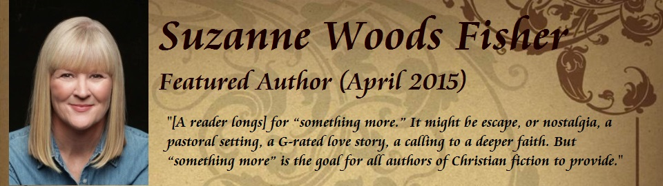 Featured Author Suzanne Woods Fisher