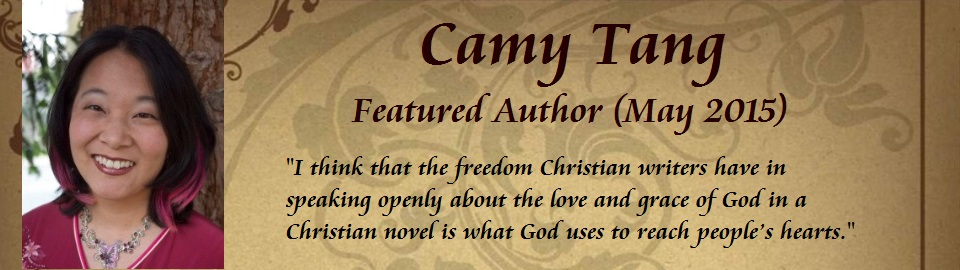 Featured Author - Camy Tang